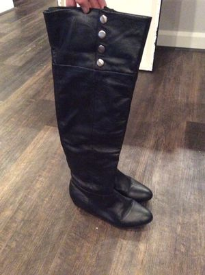 Chinese Laundry Black Leather Knee High Boots for Sale in Columbus, OH