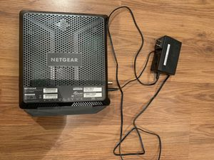 NETGEAR Cable Modem WiFi Router Combo C7000   AC1900 for Sale in San Francisco, CA