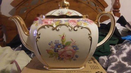 Antique Sadler Cubed Teapot for Sale in Holtville,  CA