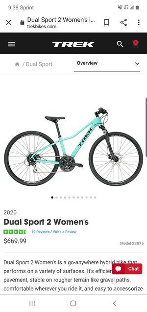 2020 Trek bike Dual Sport 2 (women's medium) for Sale in Philadelphia, PA