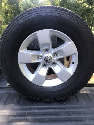 Tires with RAM 1500 Stock Rims for Sale in Madison, CT