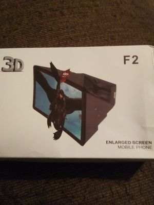 3D enlarged screen for Sale in Wichita, KS