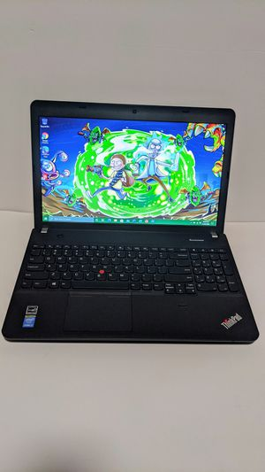 Lenovo Laptop Thinkpad E540 i7 quad core/ 8 gigs of RAM/ SSD/ No Shipping! for Sale in Los Angeles, CA