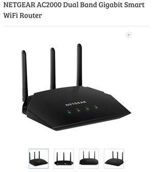 NETGEAR AC2000 Dual Band Gigabit Smart WiFi Router for Sale in Carol City, FL