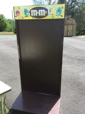 M&M. metal display stand on wheels for Sale in Jeannette, PA