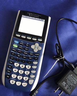 Texas ti84 c color graphic calculato for Sale in Lauderdale Lakes, FL