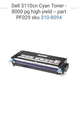CYAN - Dell 3110cn Toner Cartridges for Sale in Lake Forest, CA
