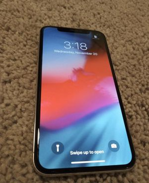 Iphone X (Silver) for Sale in Denver, CO