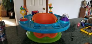 Summer Infant 4-in-1 Floor / Booster Seat w/ Toy Tray for Sale in Carrollton, VA
