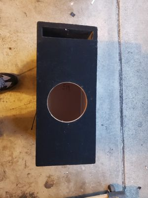 "8"" Custom Subwoofer Box / Enclosure for Sale in HUNTINGTN BCH, CA"