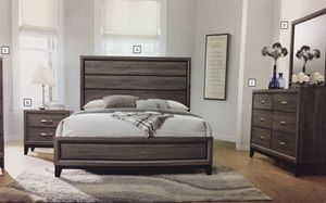 Brand new queen size bedroom set $599. Financing available no credit needed for Sale in Miami Lakes, FL