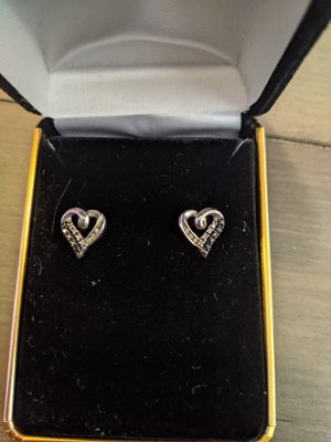 1/4 karat white gold diamond earrings for Sale in Parker, CO