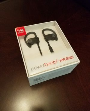 Powerbeats 3 Wireless Bluetooth Headphones Blk for Sale in Alexandria, VA