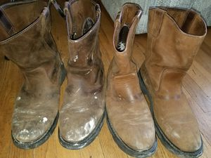2 pairs of wolverine men w04727 boots size 13 for Sale in Rockville, MD