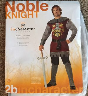 Knight Halloween costume men's large for Sale in Fenton, MO
