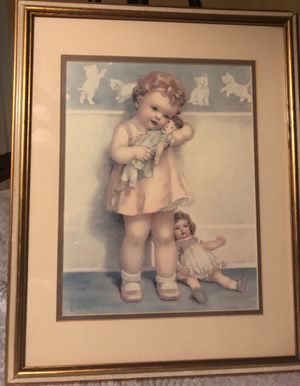 Vintage Lithograph Antique Adorable for Sale in Cincinnati, OH