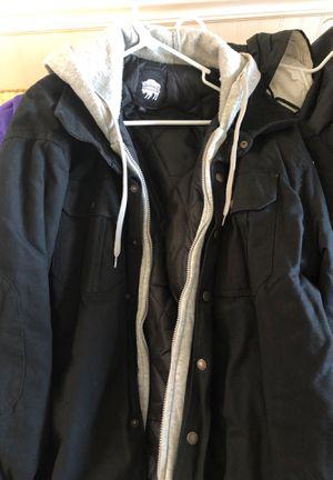 Men's 2XL Buffalo sweatshirt coat for Sale in Herndon, VA