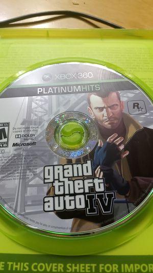 Gta iv Xbox 360 for Sale in Phoenix, AZ