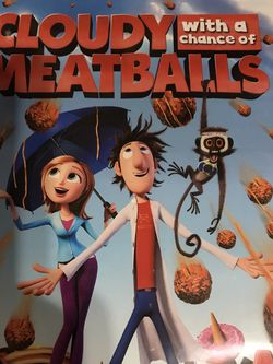 Cloudy With A Chance Of Meatballs Dvd Movie for Sale in Elma,  WA
