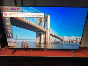 65 inch 4K Roku TV 65s517 tcl super thin for Sale in Pasadena, CA