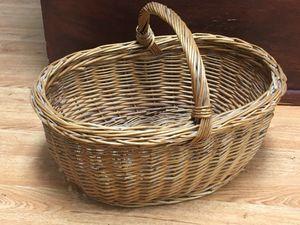 Large Wicker Market Basket for Sale in Tampa, FL