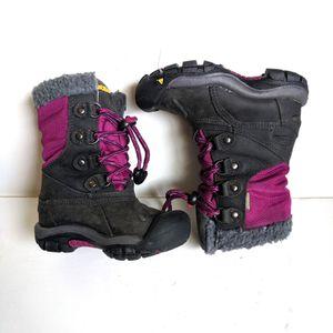 Keen Waterproof Snow Winter Boots Girls' Toddler 8 for Sale in Mesa, AZ