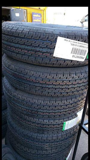 Brand New set of thunderer trailer tires 175 80 13 st for Sale in Phoenix, AZ
