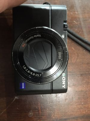 Sony dsc-rx100m3 camera for Sale in Portland, OR