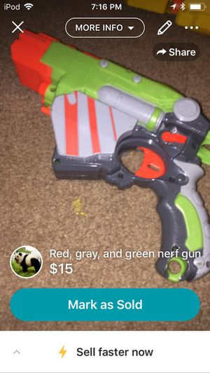 Nerf gun for Sale in Charlotte, NC