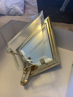 Mirror and brass wall sconces for Sale in Mt. Juliet, TN