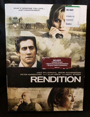 Rendition DVD for Sale in Lexington, SC