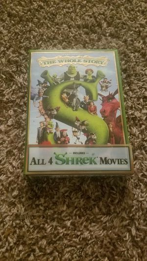 ALL 4 SHREK MOVIES BUNDLE for Sale in Tacoma, WA
