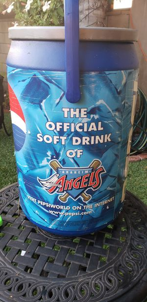 Pepsi Cooler/ Anaheim Angels for Sale in Whittier, CA