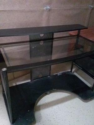 Glass top desk for Sale in Fresno, CA