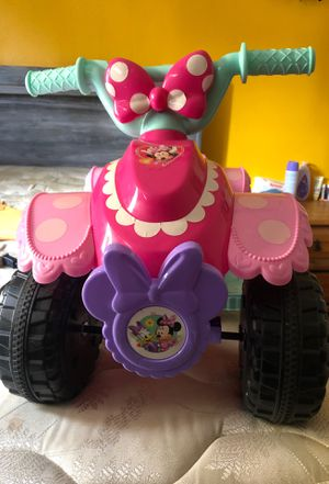 Minnie Mouse battery quad for Sale in Lompoc, CA