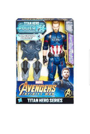 Marvel Avengers: Infinity War Titan Hero Power FX Captain America for Sale in Chula Vista, CA