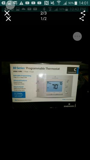 2 thermostats for $60 for Sale in Bellevue, WA