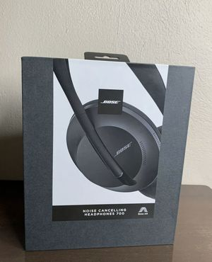 Bose: Noise Cancelling Headphones 700 - BLACK (brand new in box) for Sale in Coral Springs, FL