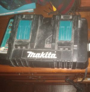 Makita double charger for Sale in Stockton, CA