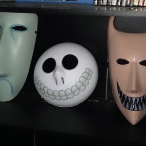 The Nightmare Before Christmas Masks for Sale in Victorville, CA