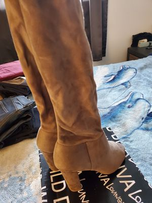 Thigh High Open Toe Boots for Sale in Strongsville, OH