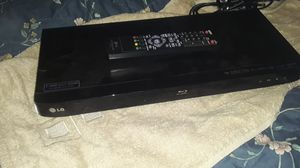 Lg blue ray DVD player for Sale in Lakewood, WA