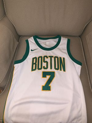 Jaylen Brown Celtics 'City' Jersey for Sale in Danvers, MA