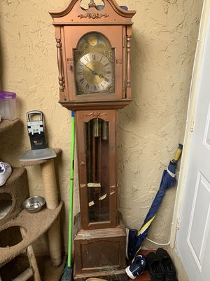 Emperor grandfather clock for Sale in Miami, FL