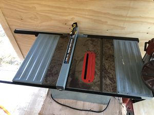 Delta Table Saw with detachable base and re-wound motor for Sale in Stamford, CT
