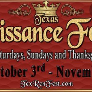 Texas Renaissance Fest (Electronic Ticket) for Sale in Houston, TX