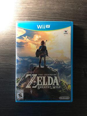 (Wii U) The Legend Of Zelda Breath Of The Wild Wii U Nintendo for Sale in Grand Prairie, TX