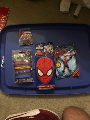 Spider-Man toys for kids. for Sale in San Antonio, TX