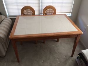 Kitchen Table with 4 Chairs for Sale in East Windsor, NJ