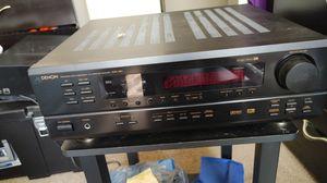 Denon precision Audio Componet /Av Surround Sound Receiver AVR-1601 and 2 Bose speaker for Sale in St. Louis, MO